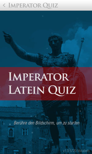 Imperator Latein Quiz